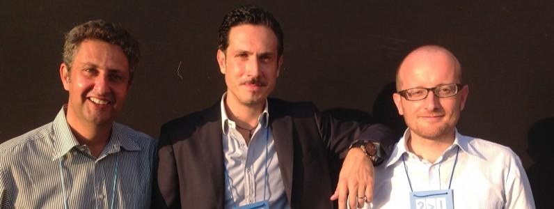 Paolo Costa Edoardo Montenegro e Pierluigi Vaccaneo - Fondatori di TwLetteratura