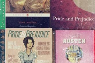 Una serie di copertine del romanzo