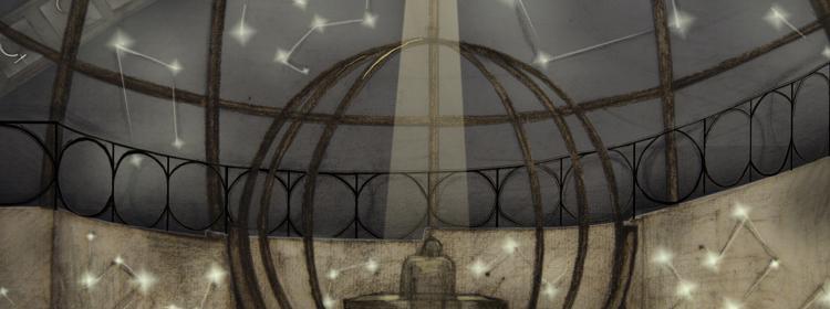 Vita di Galileo. Scenografia