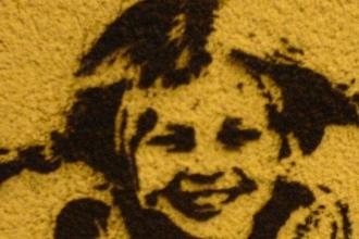 Katy Kristin Pippi Stencil Graffiti Australia