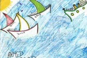 Disegno profughi_memoriale shoah