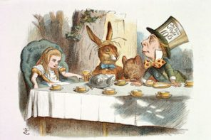 Adventures in Wonderland-social reading